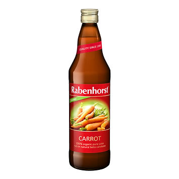 Rabenhorst Organic Carrot Juice 750ml