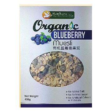 Organic Blueberry  Muesli 400gm