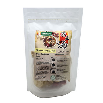 Chinese Herbal Soup - Brain Supplements Soup 137gm