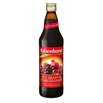 Rabenhorst Red Grape and Pomegranate Juice 750ml