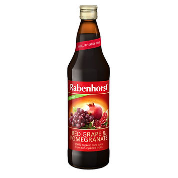 Rabenhorst Red Grape and Pomegranate Juice 750ml
