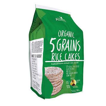 Organic 5 Grains Rice Cakes 76gm