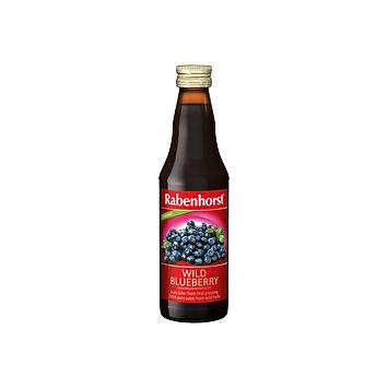 Rabenhorst 100% Organic Wild Blueberry Juice 330ml