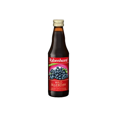 Rabenhorst 100% Organic Wild Blueberry Juice 330ml