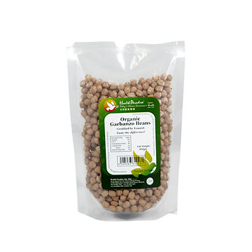 Organic Garbanzo Beans (Chickpeas) 500gm