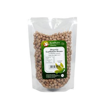 Organic Garbanzo Beans (Chickpeas) 500gm