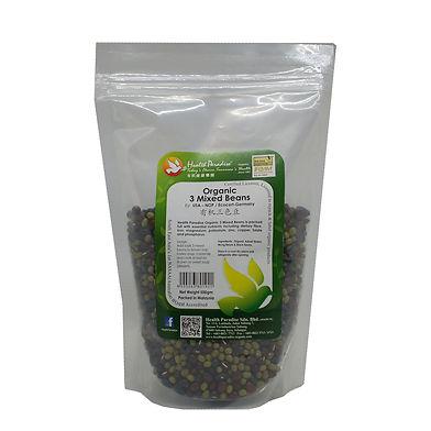 Organic 3 Mixed Beans 500gm