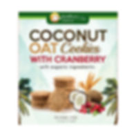 Health Paradise Coconut Oat Cookies with Cranberry 144gm