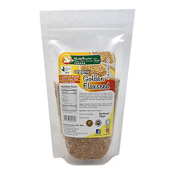 Organic Golden Flaxseed 250gm