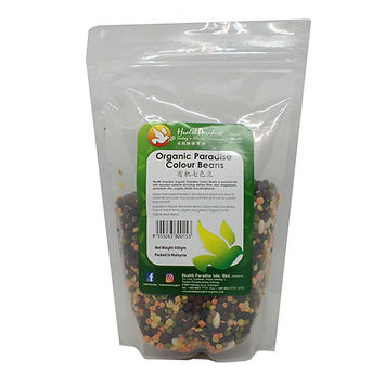 Organic Paradise Colour Beans 500gm