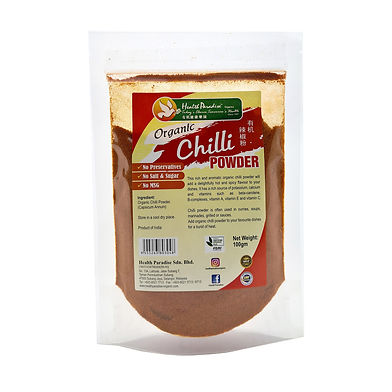 Organic Chilli Powder  100gm