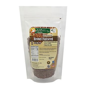 Organic Brown Flaxseed 250gm