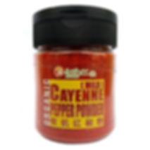 Organic Cayenne Pepper Powder  (Mild) 130gm