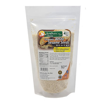 Organic White Sesame Seeds 250gm