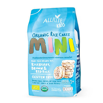 Organic Rice Cakes - Mini 30gm