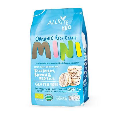 Organic Rice Cakes - Mini 30gm