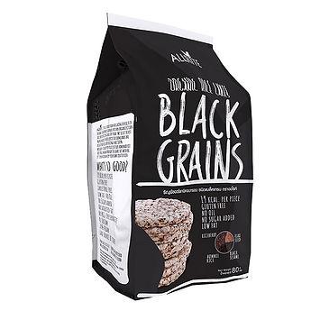 Organic Black Grains Rice Cakes 80gm