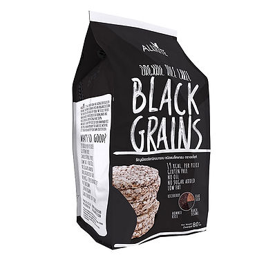 Organic Black Grains Rice Cakes 80gm
