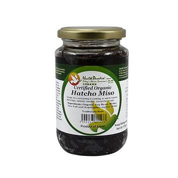 Organic Hatcho Miso (Soybean Miso) 375gm