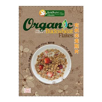Organic Crispy Buckwheat Flakes 300gm