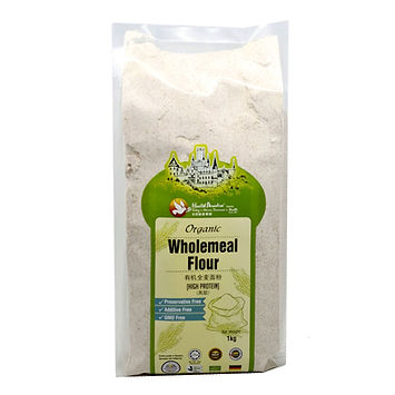 Organic Wholemeal Flour (High Protein) 1kg