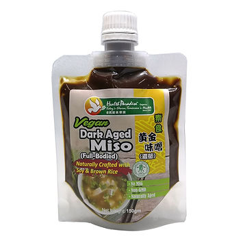 Vegan Dark Aged Miso (Full Bodied) 150gm