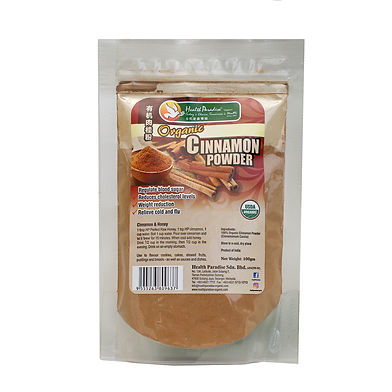 Organic Cinnamon Powder 100gm pkt