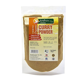 Organic Curry Powder 100gm pkt