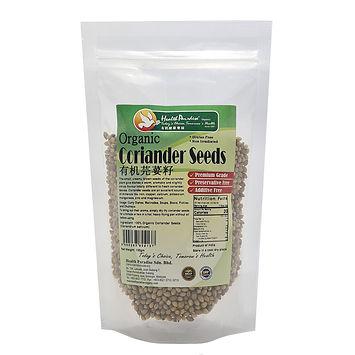 Organic Coriander Seeds 100gm