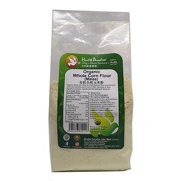 Health Paradise Organic Whole Corn Flour Maize 500gm.jpg Gluten Free GF