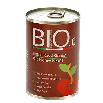 Organic Red Kidney Beans 400gm Can