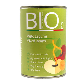 Organic Mixed Beans 400gm Can