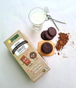 Organic Dark Chocolate Cookies 180gm