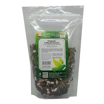 Organic 5 Mixed Beans 500gm