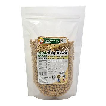 Organic Soy Beans 500gm