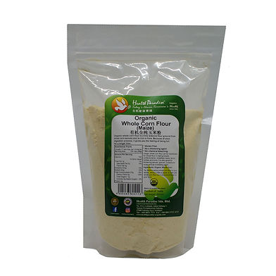 Organic Whole Corn (Maize) Flour 500gm