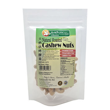 Natural Roasted Cashew Nuts – Celtic Sea Salt 100gm