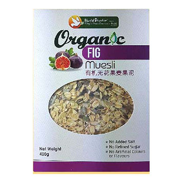 Organic Fig Muesli 400gm