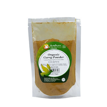 Organic Curry Powder 100gm pkt