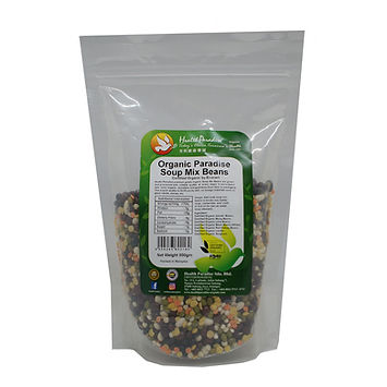 Organic Paradise Soup Mix Beans 500gm