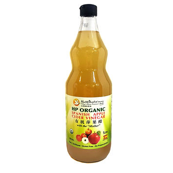 Organic HP Spanish Apple Cider Vinegar 1L