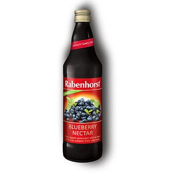 Rabenhorst Organic Wild Blueberry Nectar 750ml