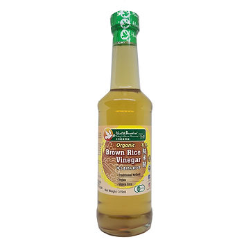 Organic Brown Rice Vinegar 315ml