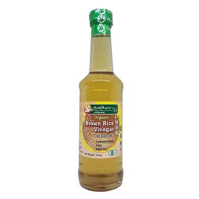 Organic Brown Rice Vinegar 315ml