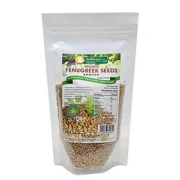 Organic Fenugreek Seeds 250gm