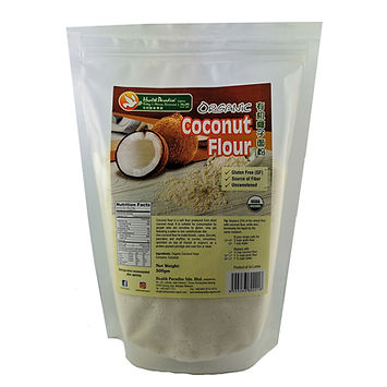 Health Paradise Organic Coconut Flour 500gm.jpg Gluten Free GF