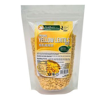 Organic Yellow Lentils (Split) 250gm