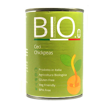 Organic Chickpeas 400gm Can