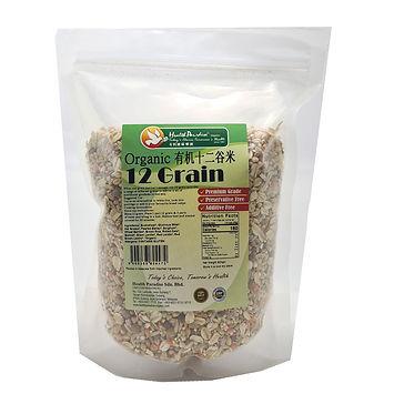 Organic 12 Grain 800gm