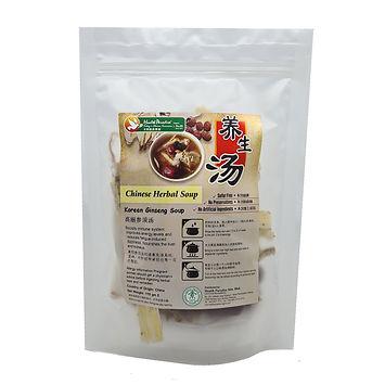 Chinese Herbal Soup - Korean Ginseng Soup 110gm